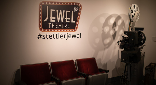 Have fun at the selfie wall at the #stettlerjewel