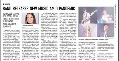 NORTHCODE IN THE BURLINGTON POST! OCT 29