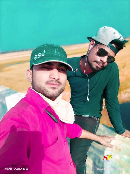me and kuldeep