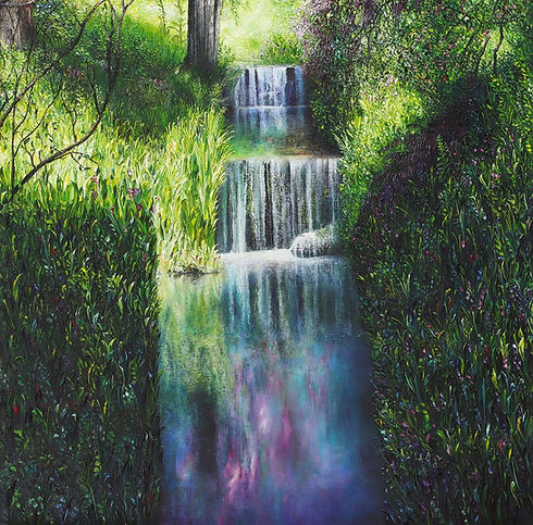 Clare Law - Iridescent - Oil on Canvas.j