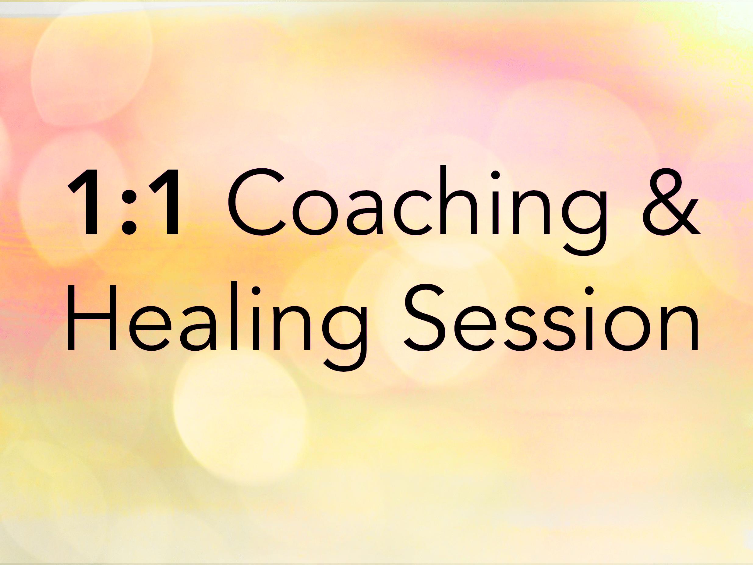 Coaching & Healing Session