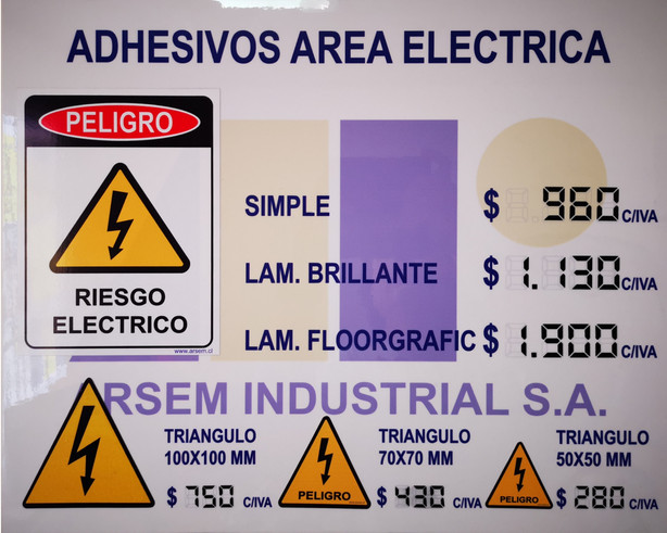 Adhesivos Area Electrica