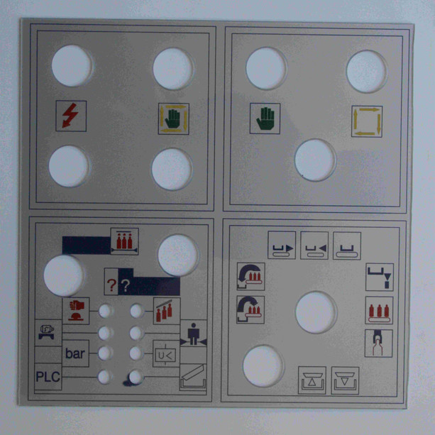 Panel maquinaria
