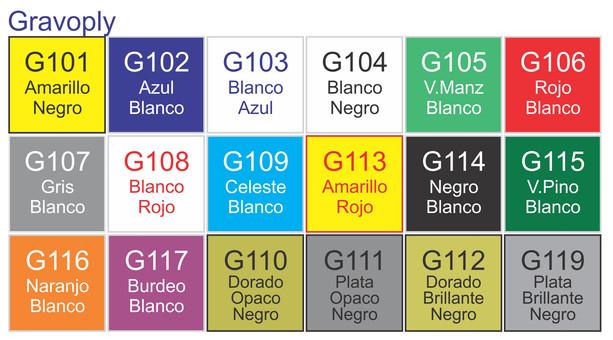 Gravoply Colores