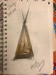 sketch book thinking