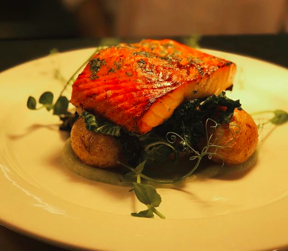 Food by Nat Tallents -Treacle Salmon