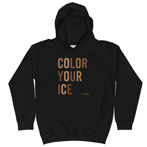 Color Your Ice Kids Hoodie