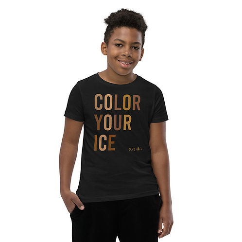 Color Your Ice Youth Short Sleeve T-Shirt
