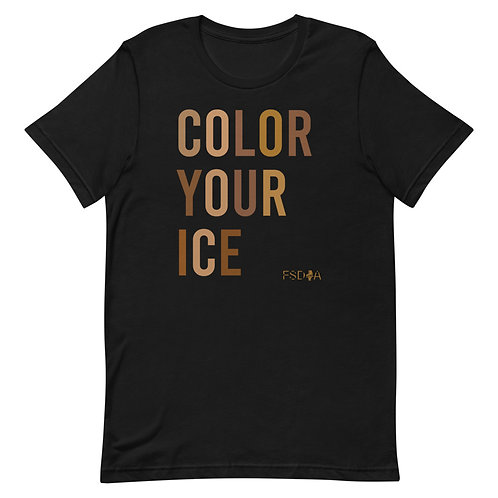 Color Your Ice Adult Short-Sleeve T-Shirt