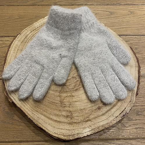 Handschoenen licht grijs - 70910