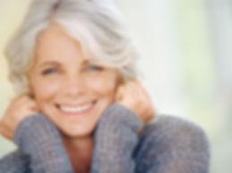 simple health education, seniors, beautiful, smiling, woman, ageless, skin