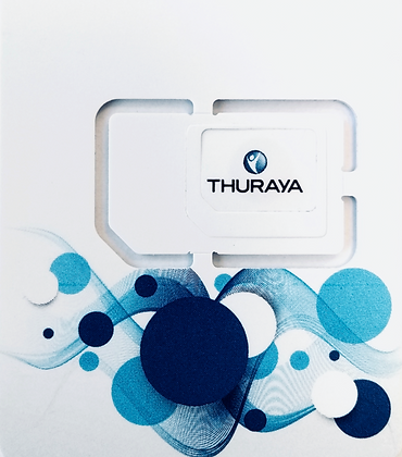 Reharge Thuraya prépayée  (à choisir)