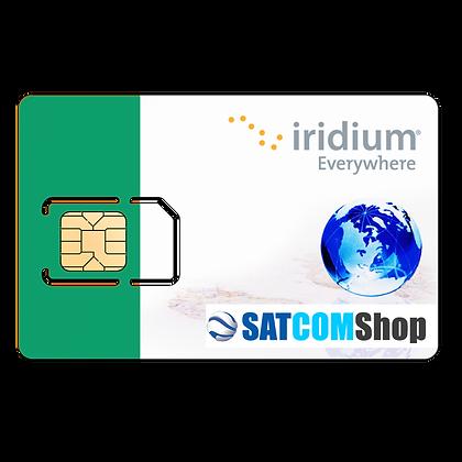 Cartes SIM Iridium prépayée + Recharge (à choisir)