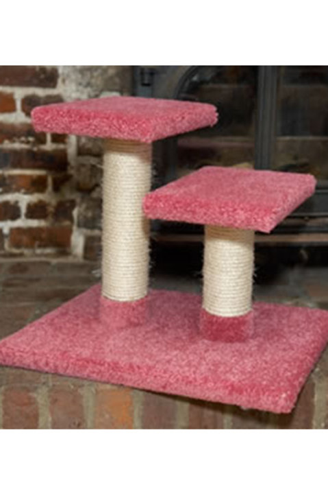 Double Platform Kitten Scratcher