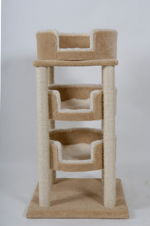 Three Bed Martello Cat Scratcher
