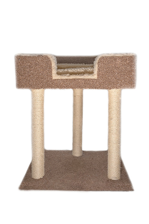 Square Bed Hop Up Cat Scratcher