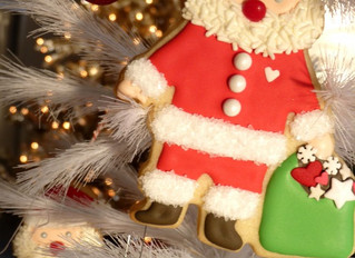 Santa Cookie How To