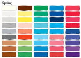 Kevät Värianalyysi Värikartta