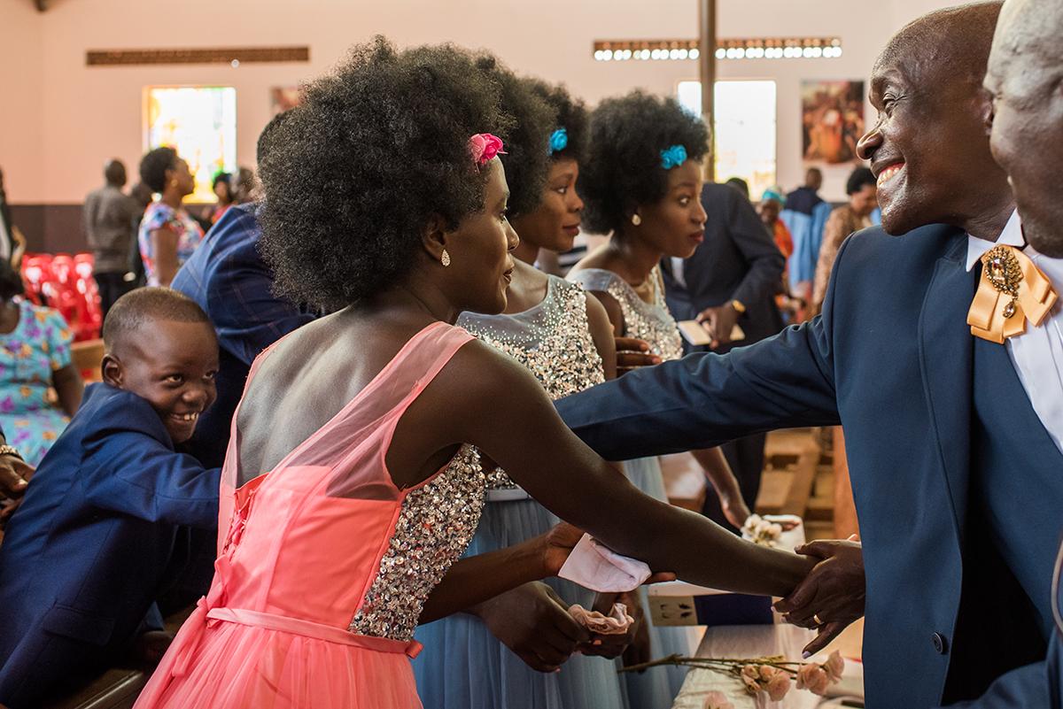 Buitenlandse bruiloft, Uganda ceremony