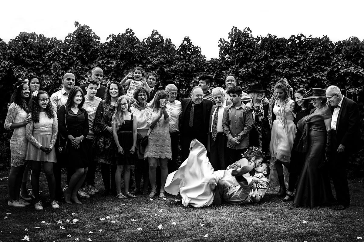Trouwfotografie Venlo familieportret