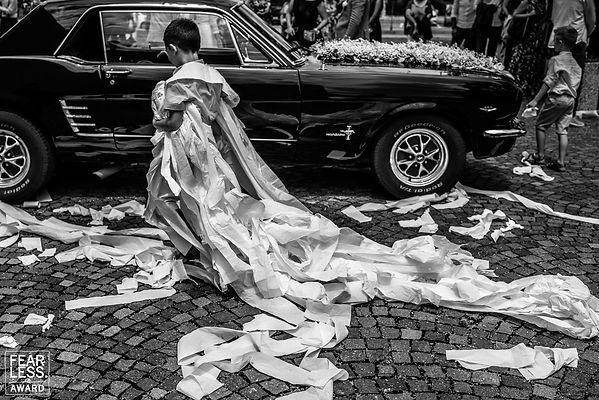 Fearless award, fearless photographers trouwfotografie Italie