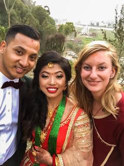 Trouwfotograaf Denise Motz met Nepalees bruidspaar