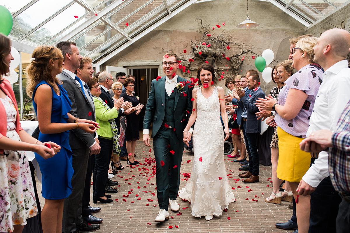 Spontane trouwfotografie Arnhem, landgoe