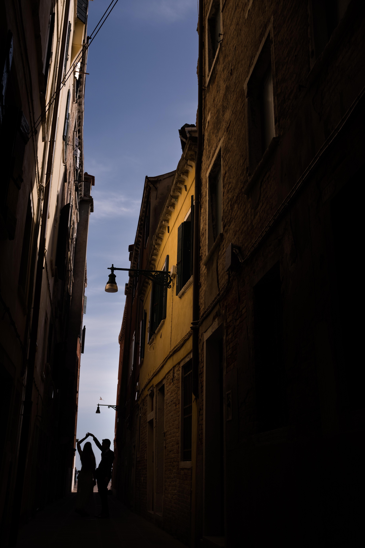Trouwen in Venetië, Italië. Bruiloft