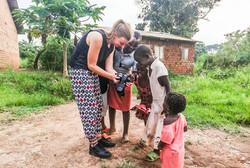 Trouwfotograaf Denise Motz in Uganda, Afrika