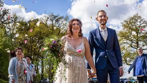 Bruiloft in Coronatijd bij Domaine d'Heerstaayen