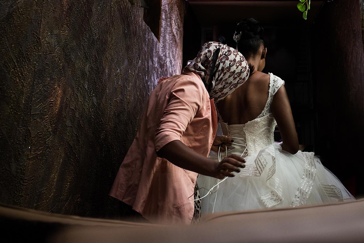 Trouwfotografie in het buitenland, Afrik
