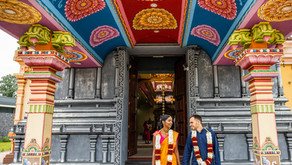 Hindoestaanse bruiloft in Nederland