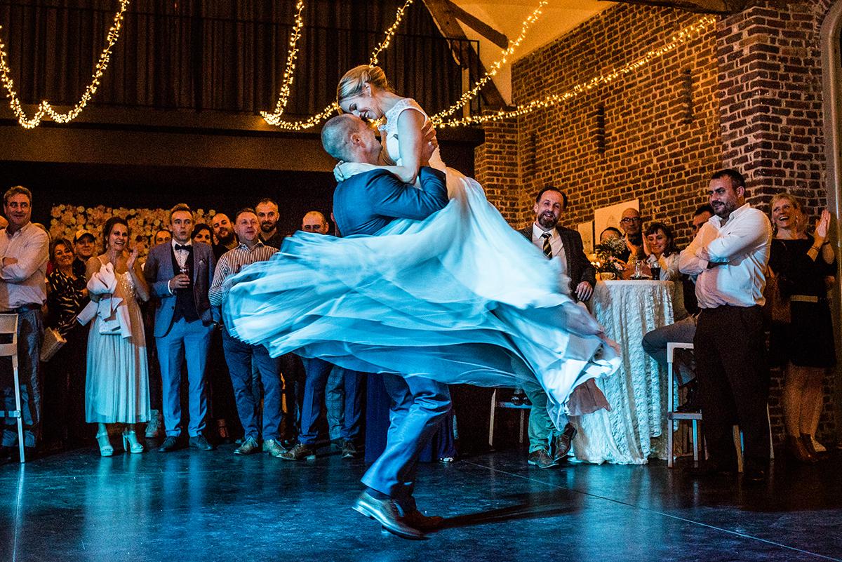 Spontane trouwfotografie openingsdans, G