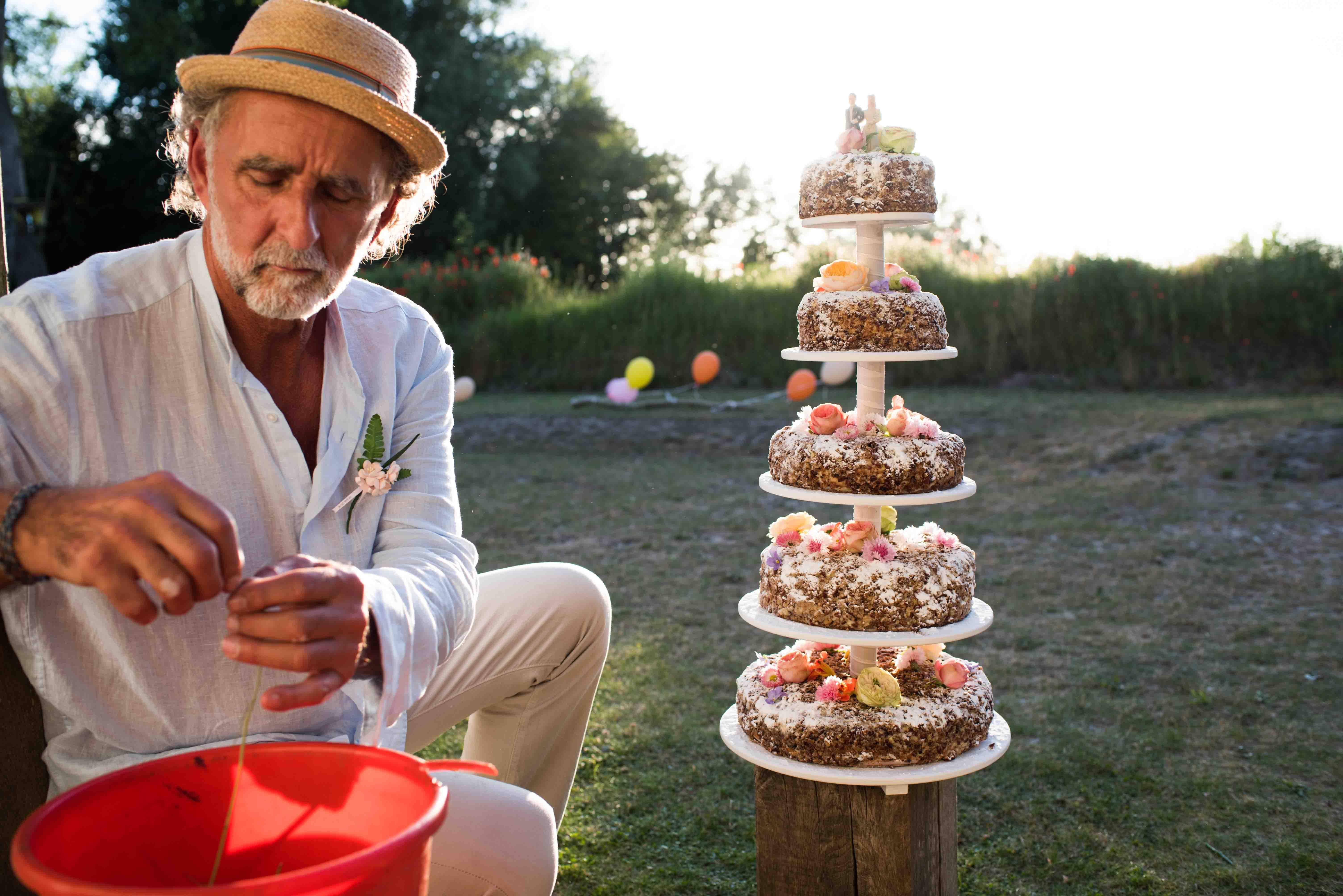Trouwfotografie Zeeland bruidstaart