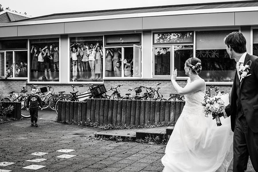 Trouwfotografie Dordrecht school