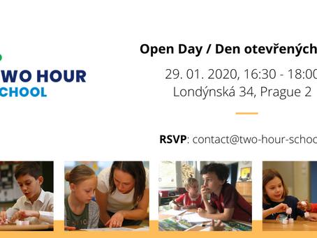 Pražská Two Hour School zve na Den otevřených dveří