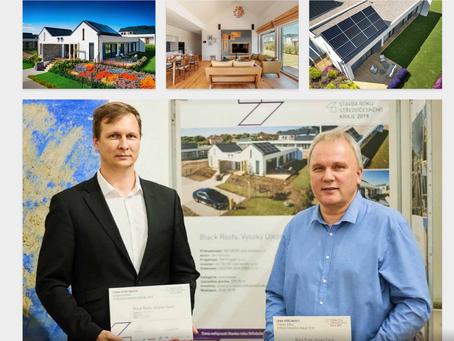 Rezidence Black Roofs získala ocenění Stavba roku