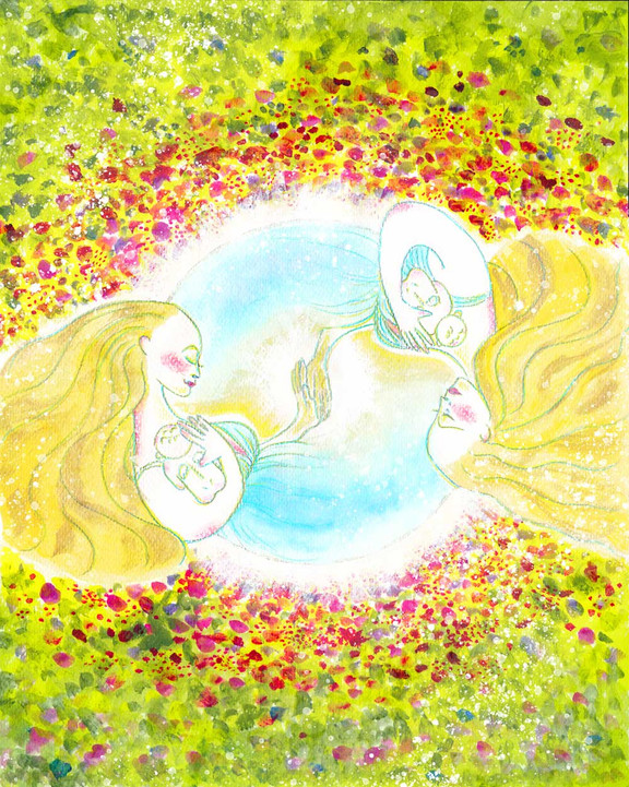 エネルギーアート「調和の世界」