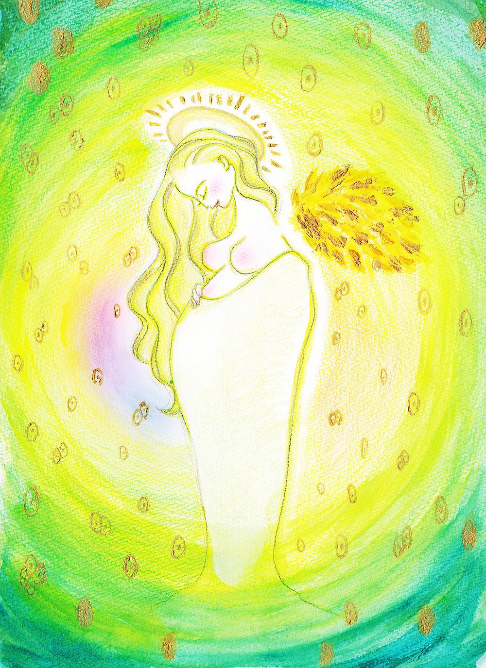 エネルギーアート【光に満ちる創造の力】