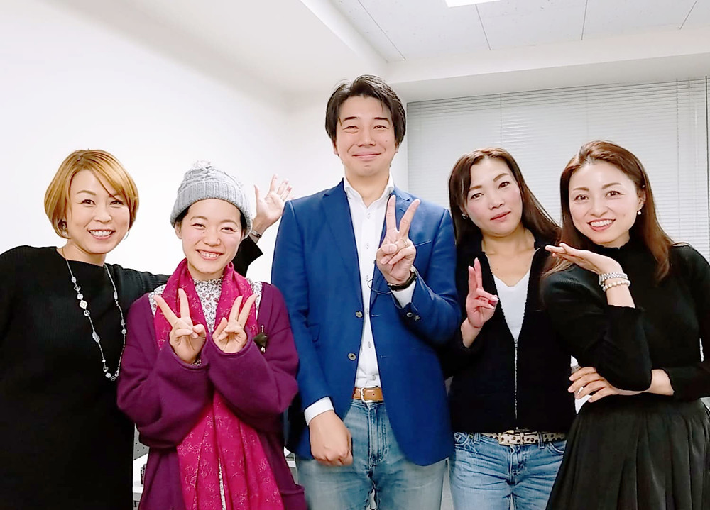 中野太智さんと日本親子コーチング協会メンバー