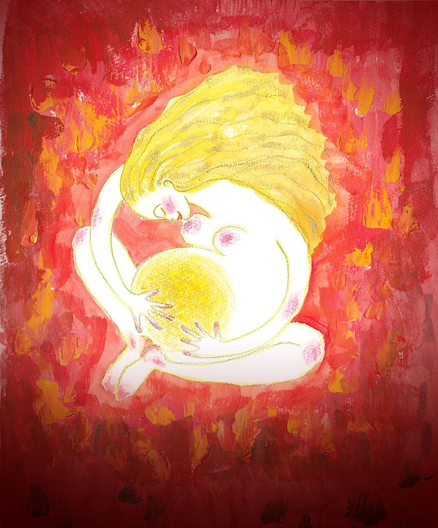 エネルギーアート「あなたは愛されているよ」