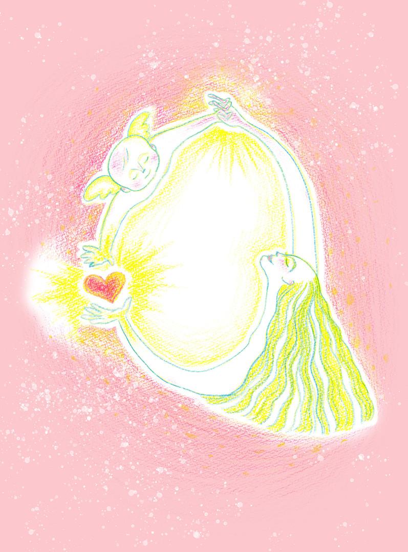 エネルギーアート「愛はめぐる」