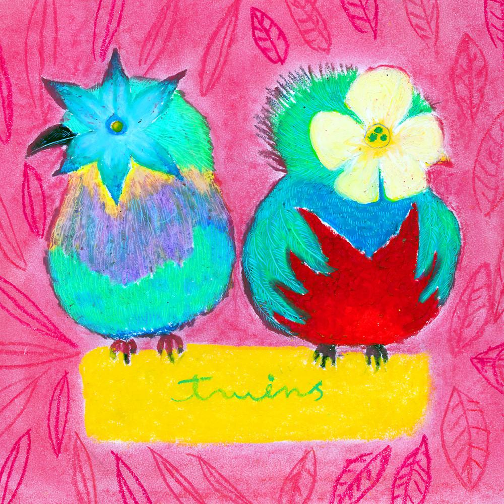 uatelier-illustration_ツインズ2羽の小鳥