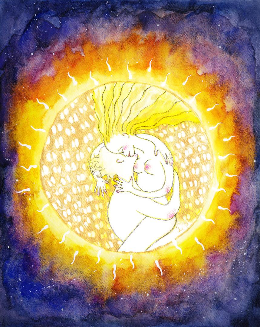 エネルギーアート「つながり続ける生命の神秘」