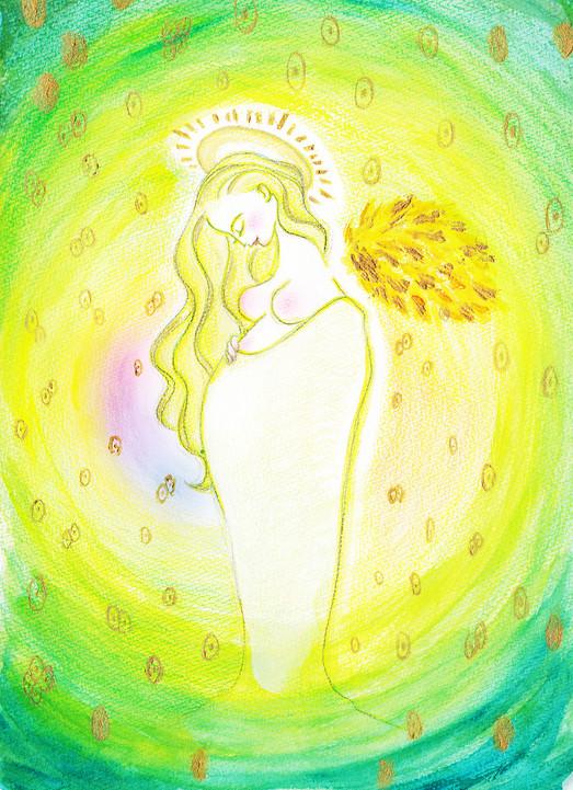 エネルギーアート「光に満ちる創造の力」