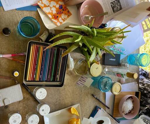 Beauty Workshop In Progress