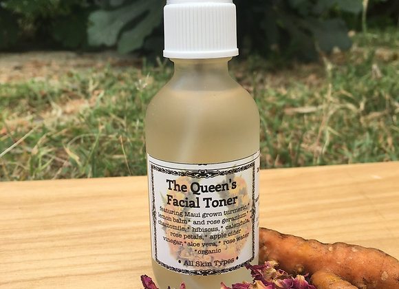 The Queens Facial Toner: turmeric