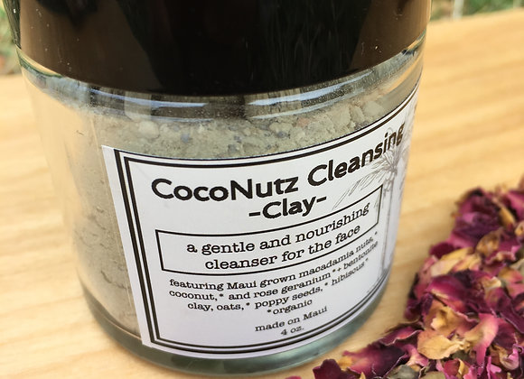 Coconut Rose Facial Cleansing Clay