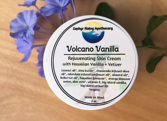 Volcano Vanilla: rejuvenating skin cream