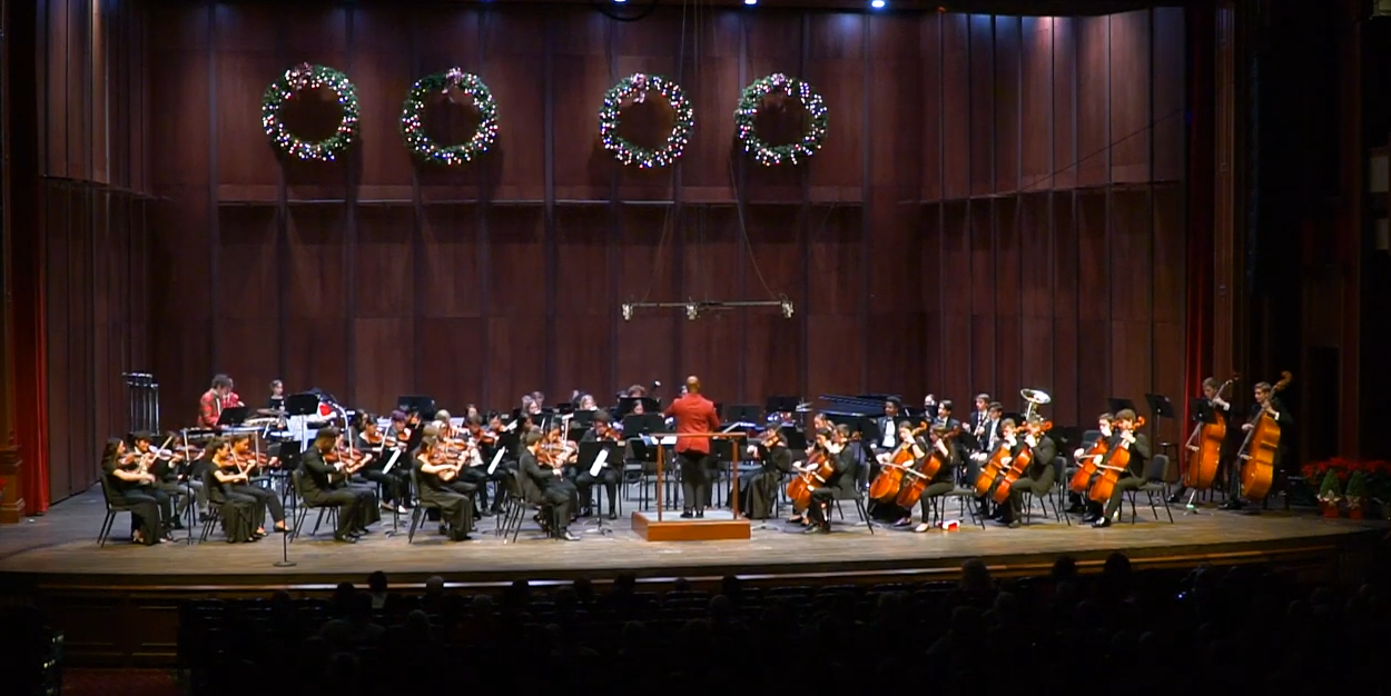 Holiday Concert, Symphony, Aaron King Va